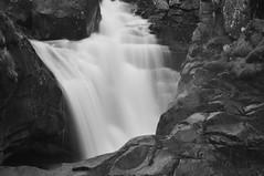 DSC_3356-1 (MartinDavid07) Tags: lake france pyrnes bw black white winter sky contrast pau waterfall