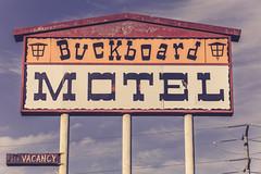 Buckboard Motel (TooMuchFire) Tags: sign signs vintage motel motels retro faded nostalgia santamaria 1620sbroadwaysantamariaca buckboardmotel vintagesigns vintagesignage vintagesign vintagemotelsigns vintagemotels americana signporn typography vintagetypography vintagetype california motelsigns motelsign oldmotelsigns
