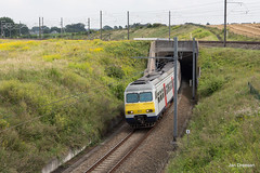 Infrabel L36C/1 (Jan Dreesen) Tags: train trein spoorweg railway belgium belgi belgique sncb nmbs infrabel 36c zaventem verbindingsboog nossegem luchthaven brusselsairport break am80 ms80