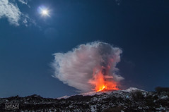 Etna&Moon (Marco Restivo) Tags: etna eruzione parossismo cenere colata colate sicilia catania spettacolo fontane sudest sec entertainment mountetna volcano southeast crater mtetna airport eruption naturaldisaster earth civilprotection security news italy explosion volcanic paroxysm ash flow volcanoes vulcano sicily fountains mount mounteruptingvolcano fireworks geologist geology landscapes lavaflow lavarock naturebackground naturebackgrounds naturelandscape outdoor phenomenon volcaniceruption volcanicrock volcanoerupting volcanoeruption volcanolava
