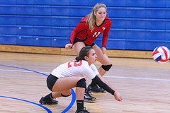 IMG_2944 (SJH Foto) Tags: girls volleyball high school mount olive mt team tween teen teenager varsity libero dig bump burst mode