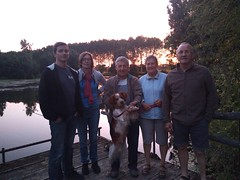 Avec Jean-Bernard, Géraldine et Didier