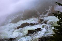 Water Works (San Francisco Gal) Tags: yubariver middleforkyubariver dam jacksonmeadows nevada waterfall rapids rock mist water