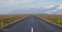 Route 1 Iceland Rong Road (Piperplex Photography) Tags: iceland landscape sony a6000 alpha carl zeiss ring road south coast trip tarmac straight lines mountains sky glacier