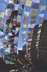 Ladakh 2005 (patrikmloeff) Tags: indien india inde indian indisch asien asia asie asian asiatisch erde earth terre monde welt world ferien urlaub vacances holiday holidays beautiful buddhismus buddhism ladakh leh capital analog analogue minolta sommer summer eté littletibet travel traveling reise voyage reisen gebetsfahnen prayerflag prayersflag himmel sky viel blau blue bleu