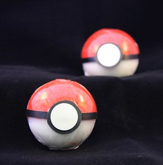 Pokemon Pokeball $4.00 (Clelian Heights) Tags: cleliancenter cleliansoaps soaps decorativesoaps unscented pokemon pokeball