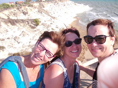 Just another nice day out in bella Sicilia  (frandala) Tags: scaladeiturchi sisters