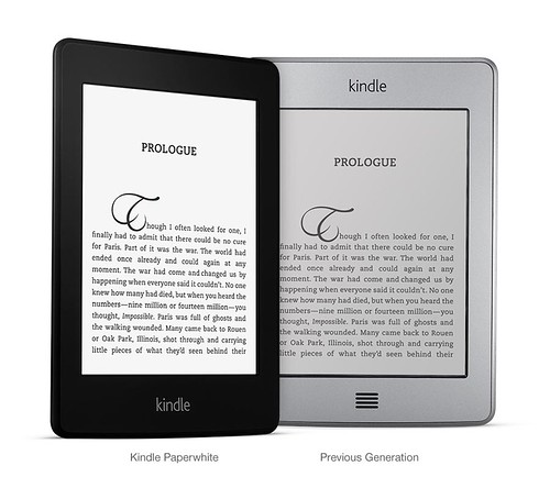 Kindle Paperwhite vs Touch