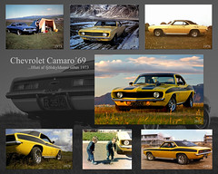 One of the family (B&B Kristinsson) Tags: chevrolet 1969 iceland reykjavik camaro chevy carshow chevroletcamaro chevycamaro bílasýning kvartmíluklúbburinn burnout2012