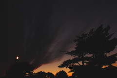 The Tail End.. (milleniumxgirl) Tags: new york sunset sky ny newyork fall clouds canon island long view dusk longisland t2i