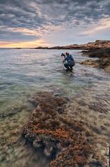 Doroteo Tobarra Narro (Carlos J. Teruel) Tags: sunrise mar mediterraneo tokina murcia amanecer cielo nubes cartagena cabodepalos rocas marinas d300 doroteo xaviersam singhraydarylbensonnd3revgrad carlosjteruel polarizadorlee105
