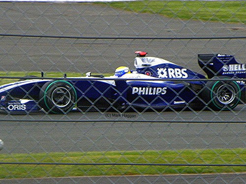 Nico Rosberg in his Williams at the 2009 British Grand Prix