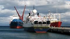 Geo (Miradortigre) Tags: patagonia haven beagle argentina port tierradelfuego puerto pier muelle hafen exploracion worldtrekker