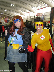 IMG_2237 Misfit and Rule 63 Kid Flash (PhantomToe) Tags: new york kid comic cosplay flash 63 misfit hero superhero rule con kidflash