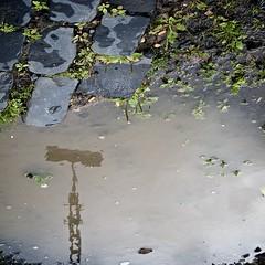 Towering (Jan Bakker) Tags: tower water upsidedown cobblestone kassel kopfsteinpflaster photowithkatjaandjosephine