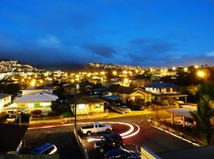 Kaimuki, St. Louis Heights and Wilhelmina Rise (Guy: Jussum Guy) Tags: longexposure sunset mountains clouds cityscape dusk kaimuki stlouisheights wilhelminarise panasonicdmczs3