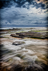 Stepping Stone (Crouchy69) Tags: seascape beach sunrise landscape dawn nikon sydney sigma australia lee 1020mm filters turimetta d7000