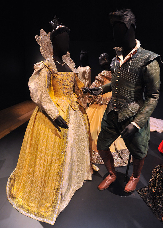 Shakespeare in Love - Gwyneth Paltrow as Viola de Lesseps and Joseph Fiennes as Will Shakespeare Hollywood Costume - press view held at the Victoria and Albert Museum. London, England - 17.10.12 Daniel Deme/WENN.com