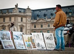 Louvre, Paris, France (bohumil.klein) Tags: paris france europa louvre seller francie 2011 pa