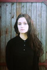 MINT (zabavnova) Tags: autumn black girl bokeh mint greeneyes curlyhair