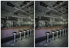 Old Luncheonette (-ytf-) Tags: nyc newyorkcity brooklyn 3d stereo greenpoint luncheonette crossview ytf ytfnyc