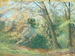 Water, Trees and Skies in Soft Pastels - 19 Oct (ArtisOn Masham) Tags: workshops masham artison craftworkshops