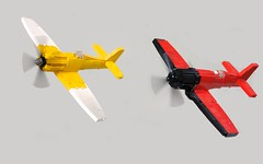 Furies Unleashed (Sydag) Tags: sea plane lego aircraft air reno fury warbird racer moc furias