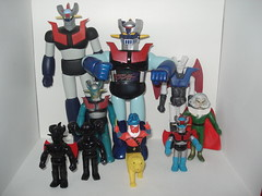 Mazinger Z collection (kopponigen) Tags: sf black vintage toy actionfigure dr secret negro great hell mini doctor z base popy 60 bootleg juguete mazinger gorgon archduke bullmark secretbase sufes banpresto q9 z    sf60 rokuron rokuronq9