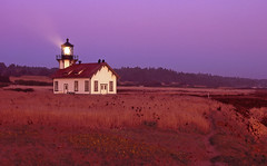 Lighthouse 8 (DY Pics) Tags: lighthouse nikonf100 velvia mendocinoca mendocinocounty pointcabrillolighthouse pointcabrillo nikonfilmcamera lighthousetrek