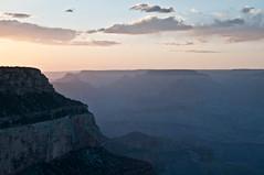 Fade away (MrBlackSun) Tags: sunset arizona usa grandcanyon az southrim grandcanyonnationalpark grandcanyonnp grandcanyonsouthrim usa2012