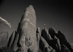 West (54 of 112) (The Paul Miller) Tags: summer blackandwhite blancoynegro monument rock evening utah desert roadtrip heat moab archesnationalpark americanwest