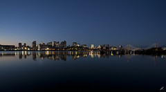 Boston Panoramic View (juancarcantabria) Tags: longexposure light usa boston skyline night buildings unitedstates nocturna horizonte estadosunidos juancarcantabria