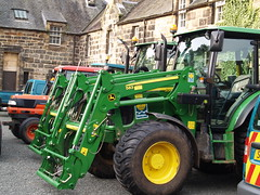 John Deer Tractor (divnic) Tags: bridge tractor water river scotland waterfall glasgow southside cart johndeer nts whitecart glasgowcitycouncil pollokshaws rivercart pollokestate pollokhouse nationaltrustforscotland maxwellfamily williamadam pollokcountrypark cityofglasgow johndeertractor oldpollokestate sirjohnmaxwellstirlingmaxwell johndeere583loader johndeere5090mtractor