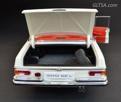 MERCEDES-BENZ 300 SEL 6.3 1970 - BEIGE 1:18 AUTOART MILLENNIUM 76141 (@GLTSA Over a million views) Tags: beige millennium 63 mercedesbenz 1970 300 sel 118 autoart 76141 gltsa gltsacom