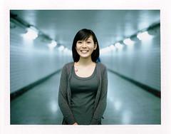 . (Da✞a) Tags: portrait color film ice polaroid bokeh instant taichung 台中 地下道 fujifilmfp100c konicainstantpress