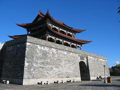 Dali city wall (mbphillips) Tags: 中国 dali yunnan 大理 云南 中國 fareast asia アジア 아시아 亚洲 亞洲 china 중국 mbphillips canonixus400 geotagged photojournalism photojournalist travel chine