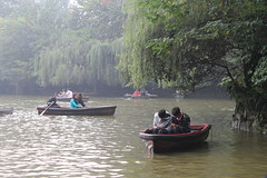 china boats chengdu peoplespark sichuan