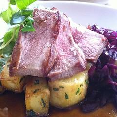 Lamb loin #foodspotting