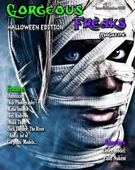 Published in 'Gorgeous Freaks' magazine! (ToriAndrewsPhotography) Tags: uk magazine blood published andrews gorgeous front cover haloween gore zombies tori freaks guts