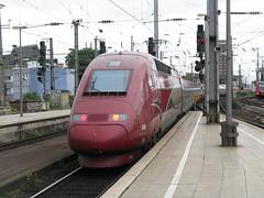 Thalys PBKA unit no. 4345, Köln Hbf. (bindonlane) Tags: tgv thalys kölnhbf trainàgrandevitesse thalyspbka