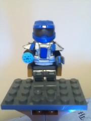 Be Human MOD (Fallen_Bricks) Tags: lego halo legocreation legomod noble3gauge sharpiepaintsilver