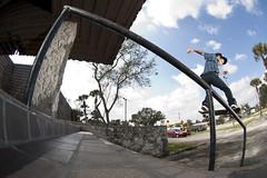 Chris Noel - Front Tail (Stephen Oliveira) Tags: skateboarding florida nikond70 palmbay chrisnoel frontsidetailslide focusskateboardingmagazine focusskatemag stephenoliveira noeltwins