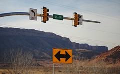 US-191 Sign Traffic Lights (Julia R2012) Tags: trafficlights utah highway scenic roadtrip national moab navajonation us191 utahscenicbyways america2012