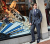 Allen Leech launches the Christmas season at Brown Thomas Dublin, Ireland