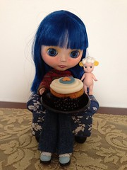 Coraline and Angels Love Cake