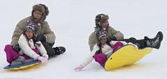 Winter fun (tmo222) Tags: winter snow toronto canada sled slope tobaggan