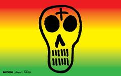 Stecyk Rasta Skull