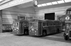 Kingston bus station (kingsway john) Tags: kingsway models kingston bus station 176 scale card model london transport rt rf londontransportmodel diorama oo gauge miniature