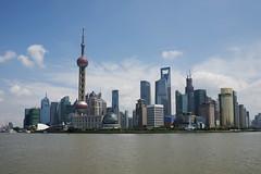 Pudong Skyline, Shanghai (basair) Tags: world china tower skyline architecture skyscraper shanghai jin bank mao pearl pudong financial rtw