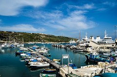 Mgarr Harbor On Gozo Island, Malta (Butch Osborne) Tags: boats island islands harbor ships malta masts gozo mgarr yagts malta2012 watermaltese